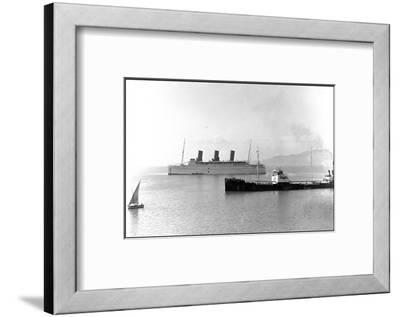 Rms Empress of Britain, Ocean Liner--Framed Photographic Print