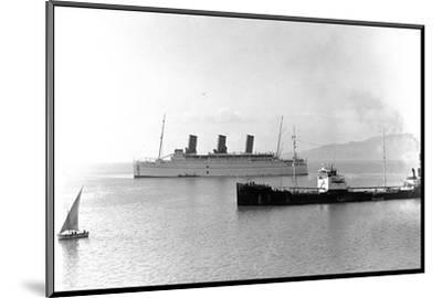Rms Empress of Britain, Ocean Liner--Mounted Photographic Print