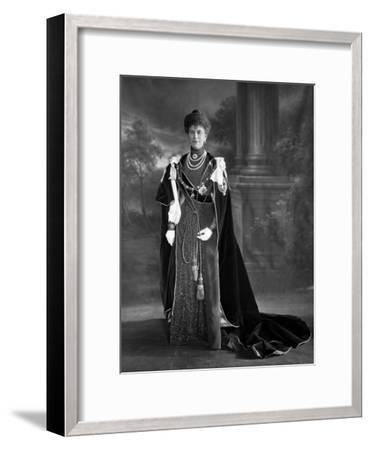 Queen Mary, 1911--Framed Photographic Print