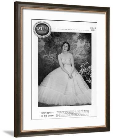 Lady Jane Vane-Tempest-Stewart--Framed Photographic Print