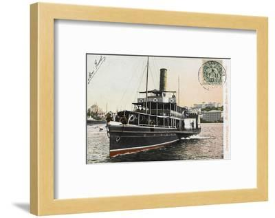 Nev-Esser - the Ferryboat from Istanbul to the Princes Islands--Framed Photographic Print