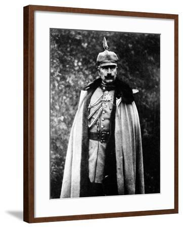 Kaiser Wilhelm II in the Field--Framed Photographic Print