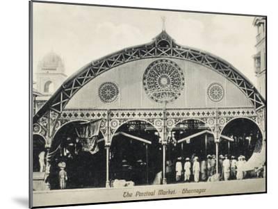 Percival Market, Gujarat, India--Mounted Photographic Print