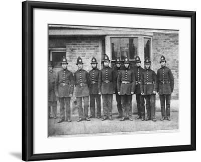 Police Group 1864--Framed Photographic Print