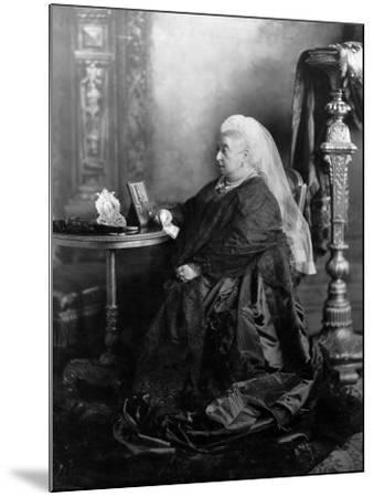 Queen Victoria, Windsor, May 1897--Mounted Photographic Print
