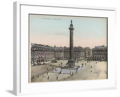 Place Vendome--Framed Photographic Print