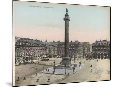 Place Vendome--Mounted Photographic Print