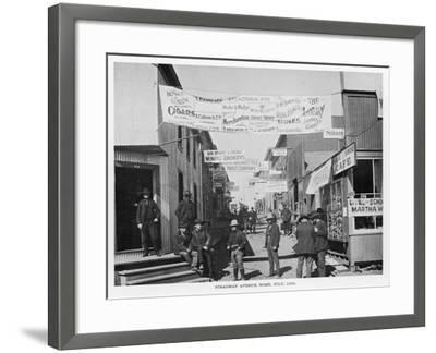 Nome, Alaska, During the Gold Rush--Framed Photographic Print