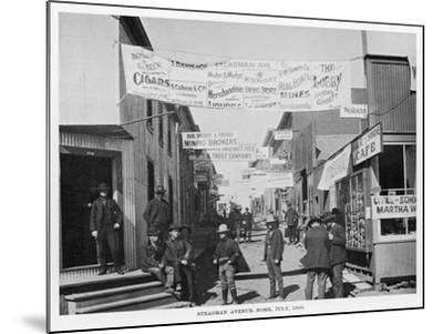 Nome, Alaska, During the Gold Rush--Mounted Photographic Print