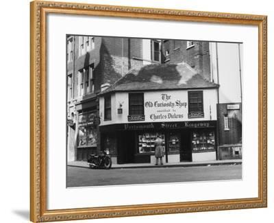 Old Curiosity Shop--Framed Photographic Print