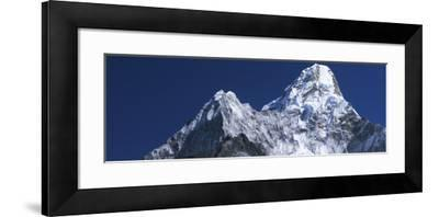 Detail of Snow-Covered Peaks of Ama Dablam-Jeff Foott-Framed Photographic Print