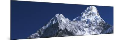 Detail of Snow-Covered Peaks of Ama Dablam-Jeff Foott-Mounted Photographic Print