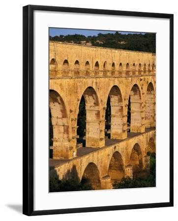 France - Gard - Pont Du Gard - Roman Aqueduct on Gardon River (19 Back--Framed Photographic Print