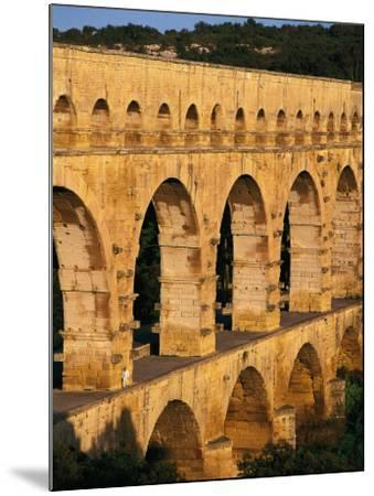 France - Gard - Pont Du Gard - Roman Aqueduct on Gardon River (19 Back--Mounted Photographic Print
