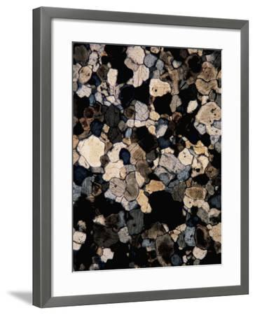Close-Up of a Mineral Rock--Framed Photographic Print