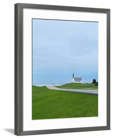 North Dakota, Carrington, Built in 1919 and Closed in 1969, the James River Lutheran Church-Jason Lindsey-Framed Photographic Print