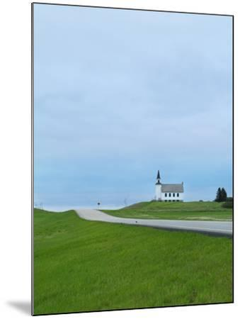 North Dakota, Carrington, Built in 1919 and Closed in 1969, the James River Lutheran Church-Jason Lindsey-Mounted Photographic Print