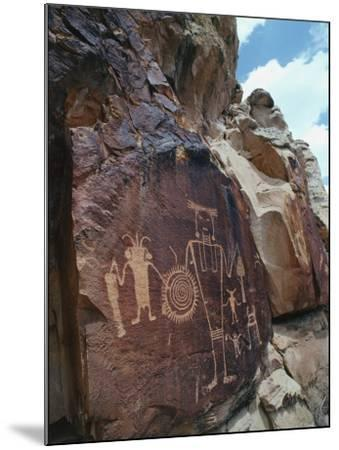 Petroglyphs-Jeff Foott-Mounted Photographic Print