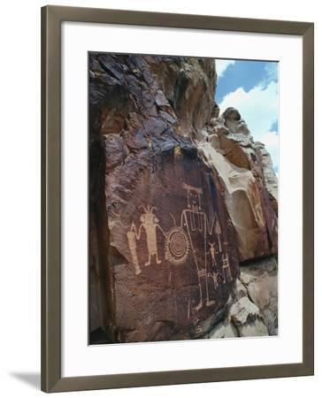 Petroglyphs-Jeff Foott-Framed Photographic Print