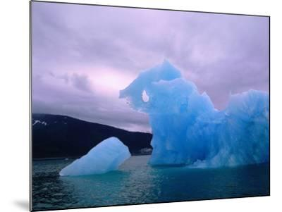 Icebergs are Surrounded by Body of Calm Water-Jeff Foott-Mounted Photographic Print