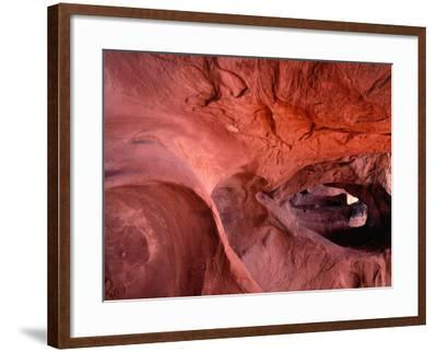 Peek-A-Boo Gulch (Side Canyon of Coyote Gulch) Shows its Strength-Jeff Foott-Framed Photographic Print
