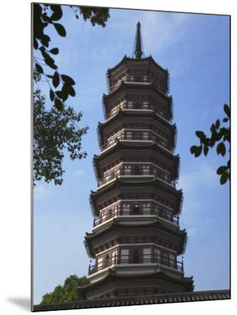 China, Guangdong Province, Guangzhou, Flower Pagoda in Liurong Temple-Keren Su-Mounted Photographic Print