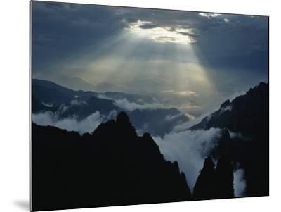 China, Anhui Province, Mt-Keren Su-Mounted Photographic Print