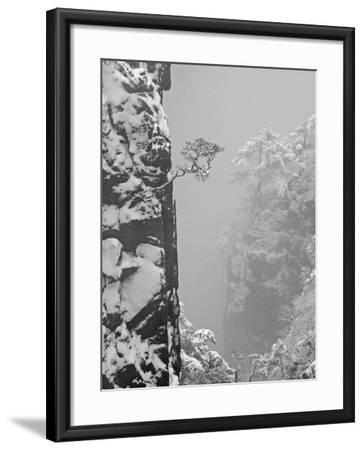 China, Anhui Province, Mt-Keren Su-Framed Photographic Print