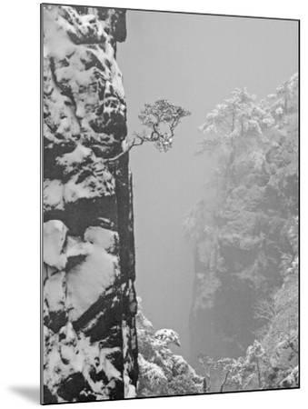 China, Anhui Province, Mt-Keren Su-Mounted Photographic Print