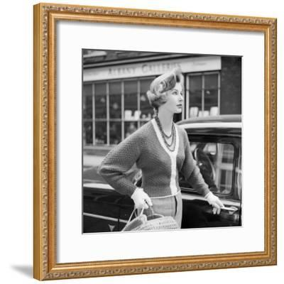 50S Knitwear-Chaloner Woods-Framed Photographic Print