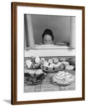 Cooling Pies-H^ Armstrong Roberts-Framed Photographic Print