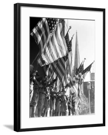 Boy Scouts-H^ Armstrong Roberts-Framed Photographic Print