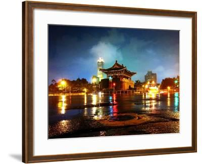 The East Gate in Taipei--Framed Photographic Print