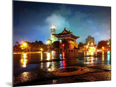 The East Gate in Taipei--Mounted Photographic Print