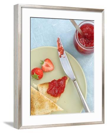 Strawberry Jam--Framed Photographic Print