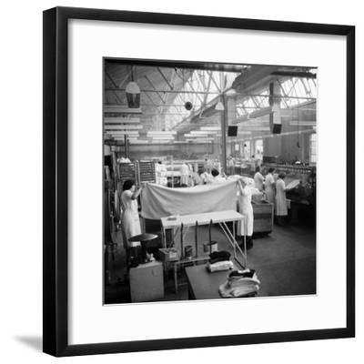 Laundry Workers-Chaloner Woods-Framed Photographic Print