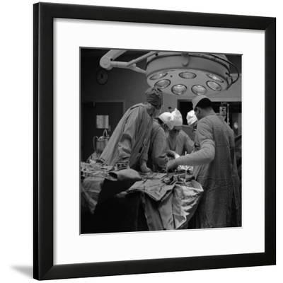 Surgical Operation-H^ Armstrong Roberts-Framed Photographic Print