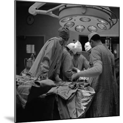 Surgical Operation-H^ Armstrong Roberts-Mounted Photographic Print
