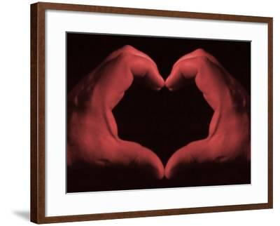 My Heart in My Hands--Framed Photographic Print