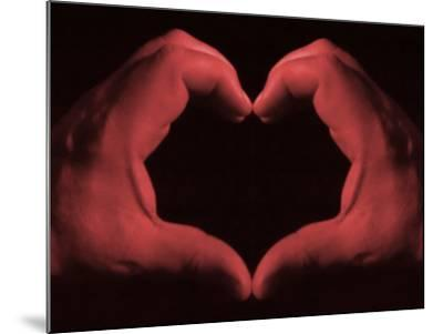 My Heart in My Hands--Mounted Photographic Print