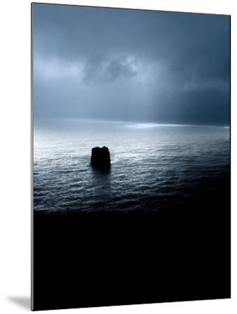 Panoramic View of a Sea, Dyrholaey, Iceland--Mounted Photographic Print
