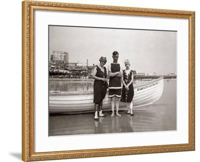 Posing in Bathing Suits-H^ Armstrong Roberts-Framed Photographic Print