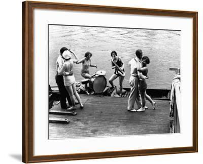 Jazz on the River--Framed Photographic Print