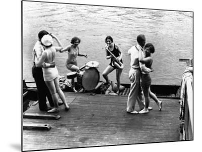 Jazz on the River--Mounted Photographic Print