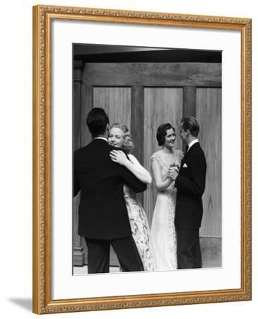 Couples Dancing-H^ Armstrong Roberts-Framed Photographic Print