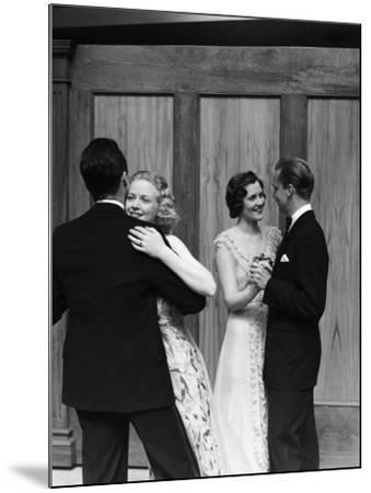 Couples Dancing-H^ Armstrong Roberts-Mounted Photographic Print