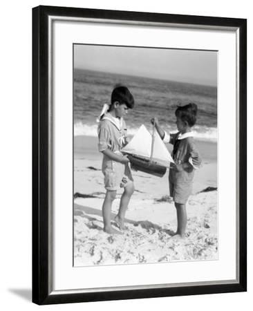 Young Sailors-H^ Armstrong Roberts-Framed Photographic Print