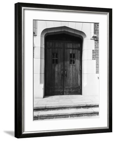 Arched Doorway and Steps-George Marks-Framed Photographic Print
