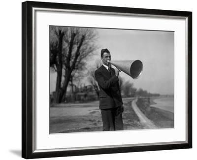 A Word in Your Ear--Framed Photographic Print