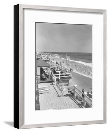 Seashore and Beach-George Marks-Framed Photographic Print